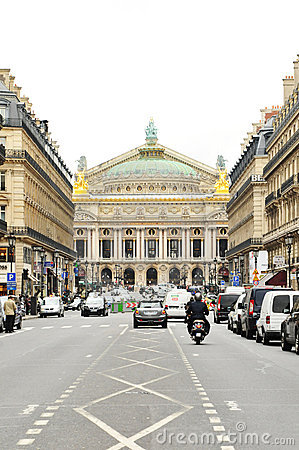 Paris Opera Editorial Stock Photo