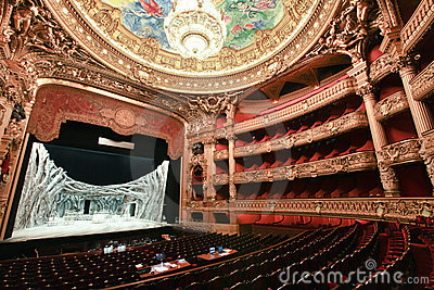 Paris Opera House In Paris France Editorial Stock Image