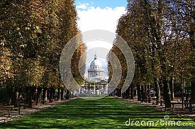 Paris, Panthéon and luxembourg garden