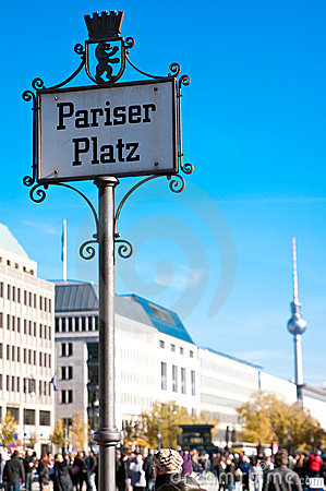 Free Paris Plaza (Pariser Platz) Berlin Royalty Free Stock Photos - 16677458