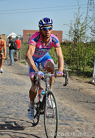 Paris Roubaix 2011 - Danilo Hondo Editorial Photography