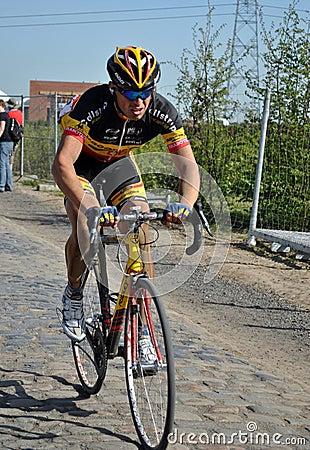 Paris Roubaix 2011 -Stijn Devolder Editorial Stock Image
