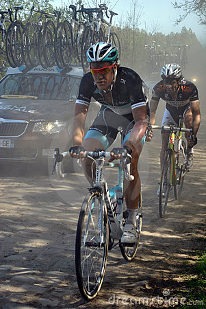 Paris Roubaix 2011 - Wouter Weylandt Editorial Stock Image