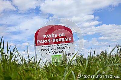 Paris Roubaix- Milestone Editorial Image