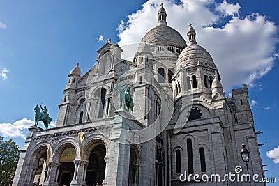 Paris s Basilique du Sacré-Coeur