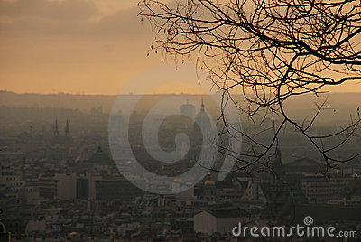 Paris from Sacre Cour