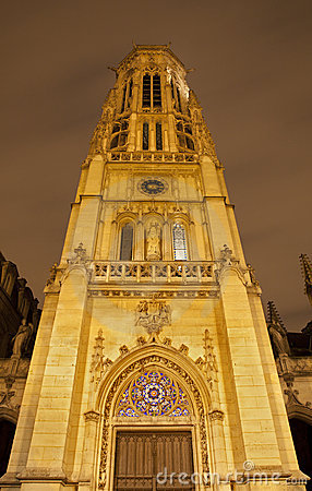 Paris - Saint Germain-l Auxerrois church
