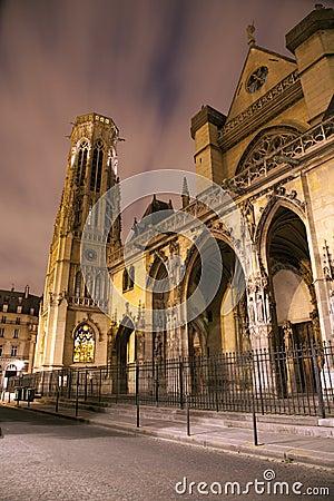 Paris - Saint Germain-l Auxerrois gothic church