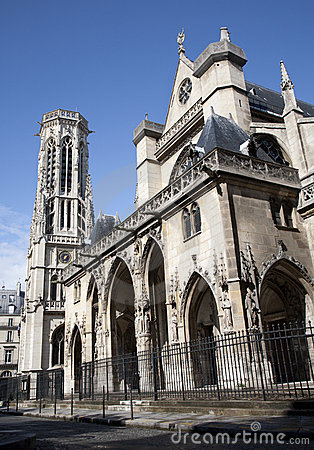 Paris - Saint Germain-l Auxerrois gothic church