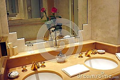 Paris salle de bains d 39 h tel de palais photo stock for Paris hotel des bains
