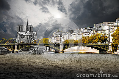 Paris and the Seine