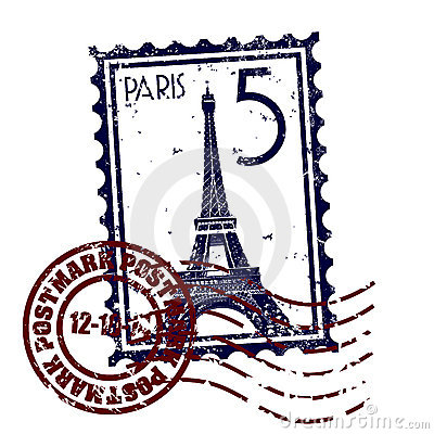 Free Paris Stamp Or Postmark Style Grunge Stock Photo - 11487450