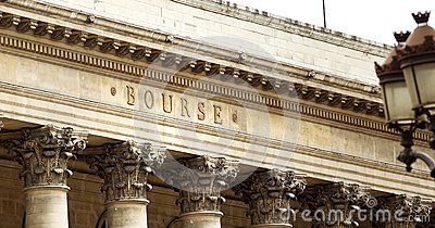 Paris stock exchange