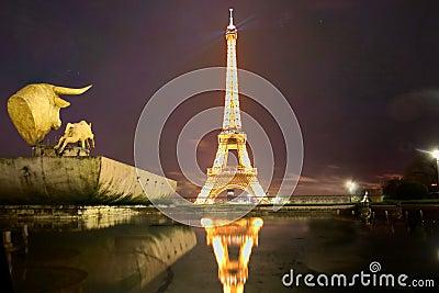 Paris street art Editorial Stock Image