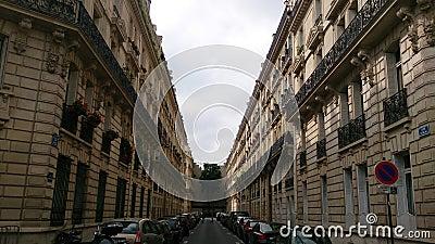 Paris street Editorial Photography