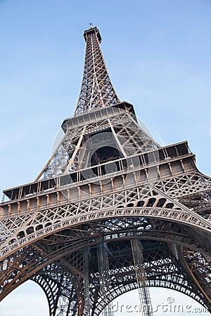 Paris - the Tour Eiffel