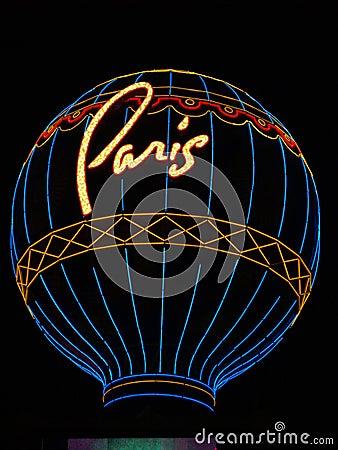 Free Paris Vegas Royalty Free Stock Photography - 37215257