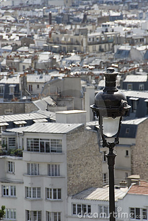 Paris,a view from Montmartre