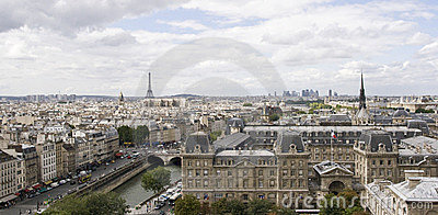 Paris, view from Notredame
