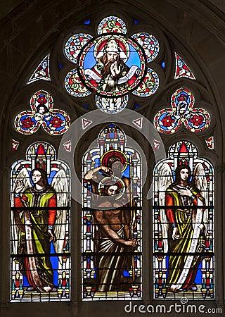 Paris - windowpane from Saint Germain