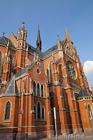 Free Parish Church Of St. Peter And Paul, Osijek Stock Photo - 5454010
