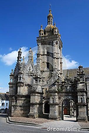 Parish close in Saint Thegonnec in Brittany