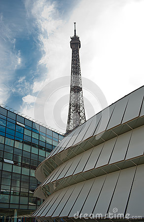 Parisian Architecture Contrast Stock Photography - Image: 26825002