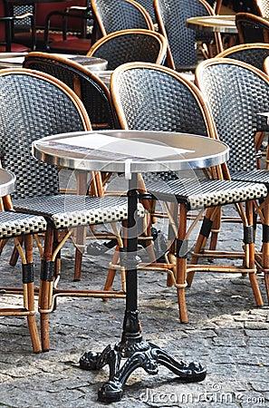 Free Parisian Cafe Terrace Royalty Free Stock Photo - 20336125