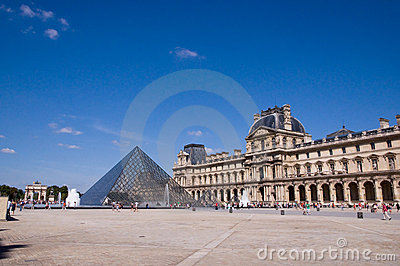Parisian Pyramid Editorial Image
