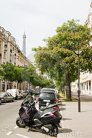 The Parisian street
