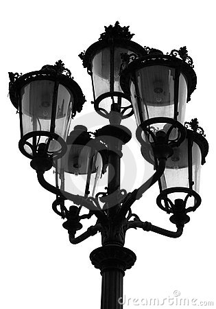 Parisian Street Light