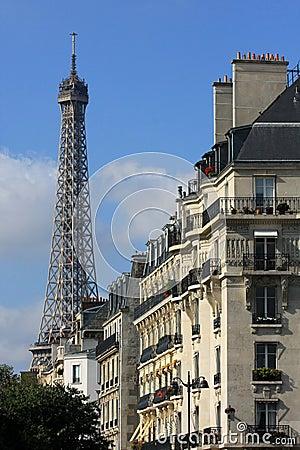Free Parisian View Royalty Free Stock Photos - 11363898