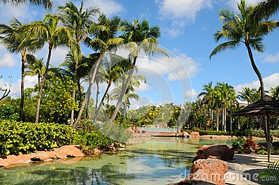 Park in the Atlantis Paradise Island