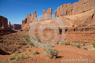 Park Ave. Overlook,  Arches N.P.