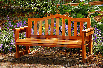 Park Bench on Park Bench  Click Image To Zoom
