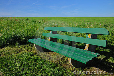 Park-bench bench  nature