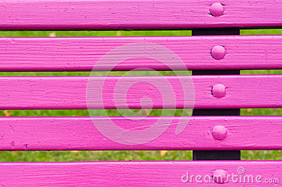 Park bench detail