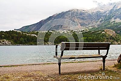 Park Bench at the Lake