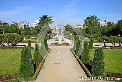 Park Buen-Retiro, Madrid