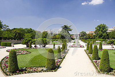 Park Buen-Retiro, Madrid, Spain