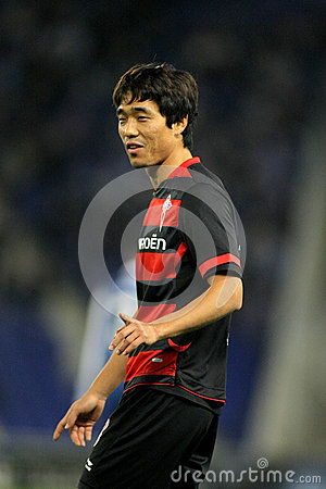 Park Chu-young del Celta de Vigo SAD Immagine Editoriale