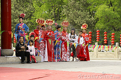 Park Cultural Festival Editorial Photography