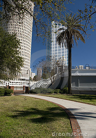 Park in Downtown Tampa Florida