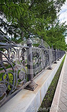 Park fence