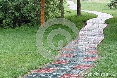 Park footway