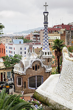 Park Guell Editorial Image