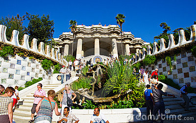 Park guell Editorial Photography