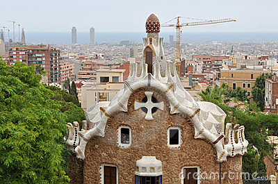 Park Guell Editorial Photo