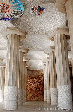 Park Guell interior