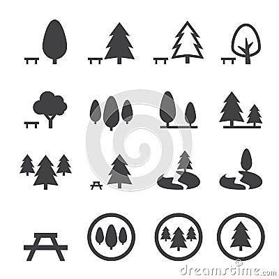 Free Park Icon Stock Photo - 49366630